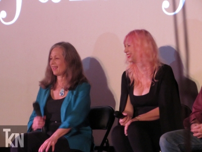 Christy Marx & Samantha Newark at CineFamily