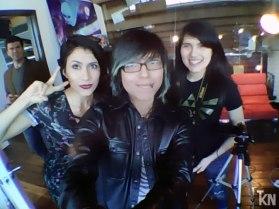 Cristina Vee, Krystal Kitsune and Alondra