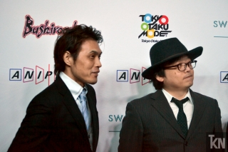 (Left) KAZUMA MIKI [Editor/Producer]; (Right) SHINGO ADACHI [Character Design/Chief Animation Director]