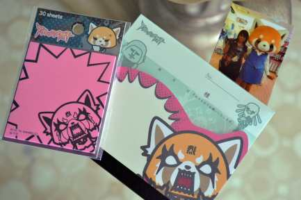 Aggretsuko Sticky notes!