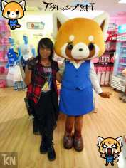 Me (Krystal) & Aggretsuko