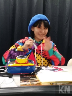 Chiaki Harada's first Los Angeles appearence