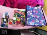 Chiaki Harada merch: Mirror, Sticker, Artbook & tote bag