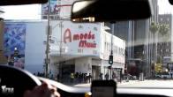Amoeba front entrance. Line was already outsde.