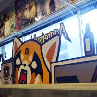 Aggretsuko decor.