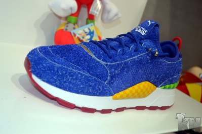 Sonic The Hedgehog (Green Hill Zone) Shoe