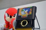 Sonic Mania Sega Gen. s Cartridge w/ metal gold ring