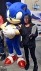 Myself & the fastest thing alive, Sonic!