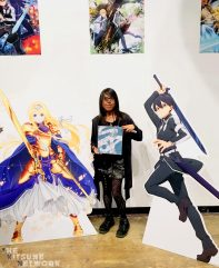 Alice, Kirito and myself