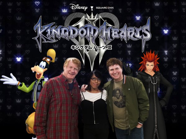 Bill Farmer, Krystal & Quinton - Photo by Alex Entezami