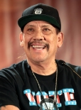 Danny Trejo speaking at the 2017 Phoenix Comicon in Phoenix, Arizona. | Photo by Gage Skidmore