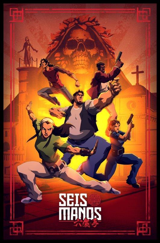 Seis Manos Poster