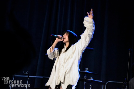 Rei Kuromiya performing at Anime Los Angeles 2020