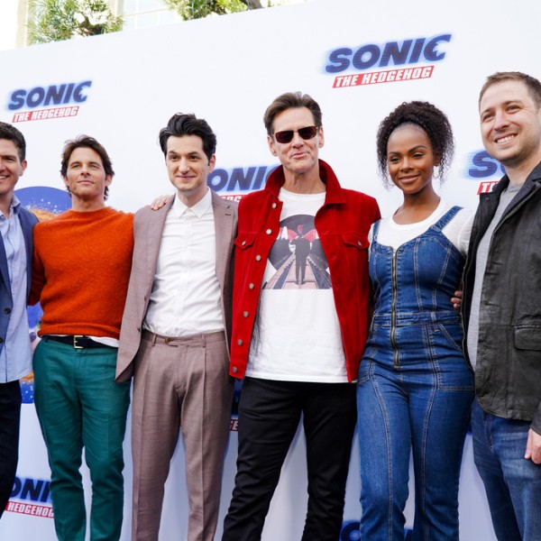 Jim Carrey, Tika Sumpter, James Marsden, Ben Schwartz, Jeff Fowler, Toby Ascher